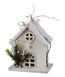 Zim bożych narodzeń dom Zdjęcie Stock