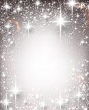 Zim bożych narodzeń gwiaździsty tło Obrazy Stock