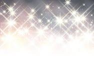 Zim bożych narodzeń gwiaździsty tło Zdjęcia Royalty Free