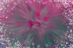 Zim bożych narodzeń tła czarownicy bielu płatek śniegu obrazy stock