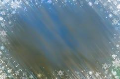 Zim bożych narodzeń tła czarownicy bielu płatek śniegu zdjęcie royalty free