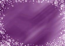 Zim bożych narodzeń tła czarownicy bielu płatek śniegu zdjęcia royalty free