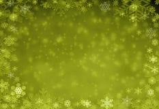 Zim bożych narodzeń tła czarownicy bielu płatek śniegu zdjęcia stock