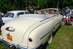 (ZIM) imagem conservada em estoque automobilístico do vintage do phaeton GAZ-12 Foto de Stock Royalty Free