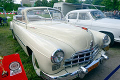 (ZIM) imagem conservada em estoque automobilístico do vintage do phaeton GAZ-12 Imagem de Stock Royalty Free