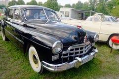 (ZIM) imagem conservada em estoque automobilístico do vintage GAZ-12 Fotos de Stock