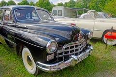 (ZIM) imagem conservada em estoque automobilístico do vintage GAZ-12 Fotos de Stock Royalty Free