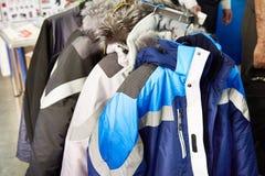 Zim kurtek mundur dla kierowników wyższego szczebla przemysł fotografia royalty free