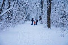 zim ludzie i zdjęcia stock