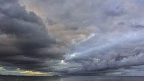 Zim nieba Obraz Stock