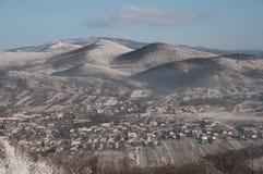 Zim wzgórza Obrazy Royalty Free