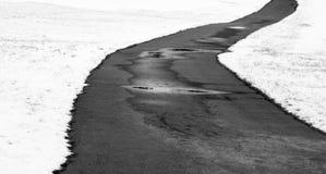 zima ścieżki zdjęcie stock