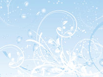 zima abstrakcyjna ilustracji