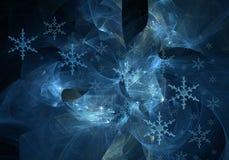 zima abstrakcyjna Obrazy Royalty Free