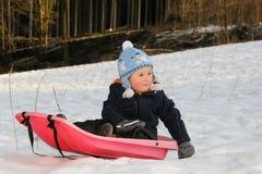 Zima aktywność Fotografia Royalty Free