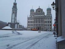 Zima Augsburska obraz royalty free