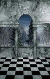 zima balkonowa kraina cudów Obrazy Stock