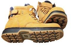 Zima buty Obrazy Royalty Free