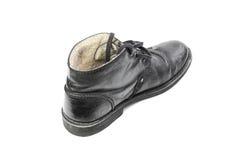 Zima buty z solą Obraz Royalty Free