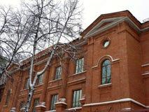 Zima chodzi w Ufa Zdjęcie Royalty Free