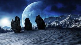 Zima cienie Obraz Stock