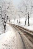 zima drogowa Obrazy Stock