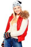 Zima dziewczyna zdjęcie stock