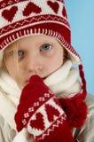 Zima dziewczyna Obrazy Royalty Free