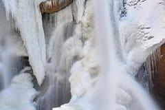 Zima głazu spadki Obraz Royalty Free