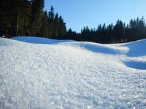 Zima I śnieg sceneria zdjęcia royalty free