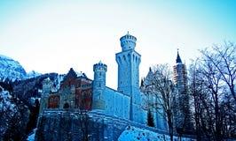 Zima kasztel Zdjęcie Stock