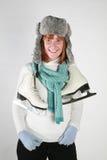 zima kobieta Zdjęcie Royalty Free