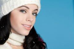 zima kobieta fotografia royalty free