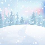 Zima krajobraz 5 Zdjęcie Royalty Free