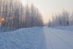Zima krajobraz. Fotografia Royalty Free