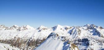 Zima krajobraz, Francja Obrazy Royalty Free