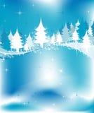 zima krajobrazowa ilustracji