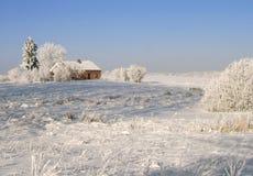 zima krajobrazowa Zdjęcie Royalty Free
