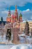 Zima Kremlin zdjęcia stock