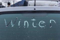 Zima, lód, śnieg Fotografia Royalty Free