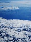 zima lotniczej Zdjęcie Royalty Free