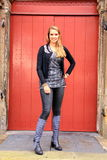 Zima moda odziewa Fotografia Stock
