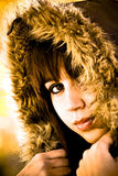 zima mody Fotografia Stock