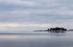 Zima morzem zdjęcia stock