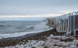 Zima Na jeziorach Obraz Stock