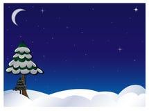 Zima niebo Zdjęcia Royalty Free