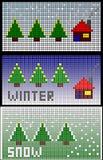 Zima śnieg Fotografia Stock
