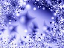 zima noc Obraz Royalty Free