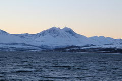 zima norway Fotografia Royalty Free