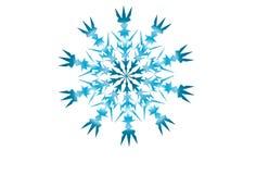 Zima nowego roku płatek śniegu Zdjęcia Royalty Free